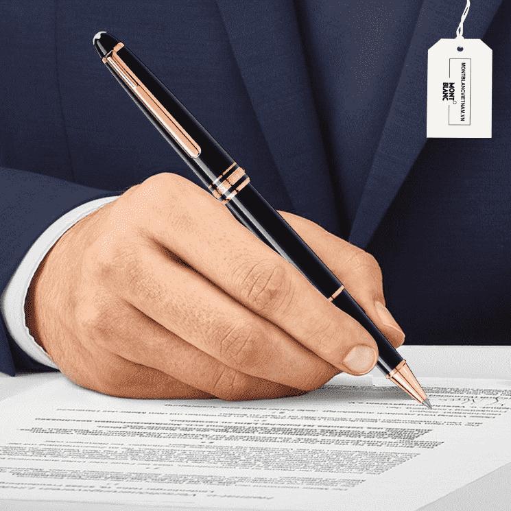 Hình ảnh chiếc bút bi nước chính hãng mã 112678 của Montblanc