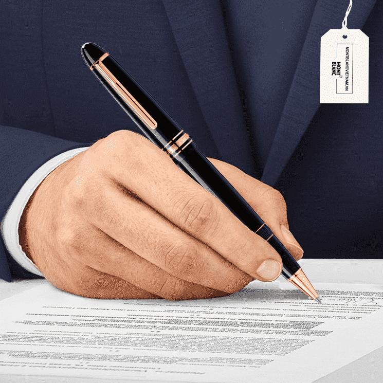 Thiết kế sang trọng và chất lượng tạo nên giá trị cho bút Montblanc 112672